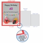 Funny Milestone Birthday Jumbo Paper Card By Thea Musselwhite From NobleWorksCards.com - How Did 40 Happen image 5