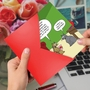 Hilarious Valentine's Day Printed Greeting Card By Scott Metzger From NobleWorksCards.com - Human Poem image 2