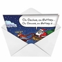 Hilarious Christmas Printed Greeting Card by Stanley Makowski from NobleWorksCards.com - Hybrid image 2