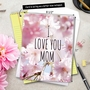 Stylish Mother's Day Jumbo Paper Card from NobleWorksCards.com - I Love You Mom image 6