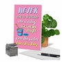 Hysterical Feel Better Greeting Card From NobleWorksCards.com - Ice Cream Carton image 6