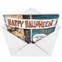 Humorous Halloween Greeting Card by Ian Baker from NobleWorksCards.com - In Bar for Boos image 2