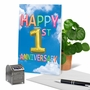 Creative Milestone Anniversary Greeting Card From NobleWorksCards.com - Inflated Messages - 1 image 6