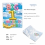 Stylish Milestone Anniversary Jumbo Paper Card From NobleWorksCards.com - Inflated Messages - 1 image 2