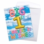 Stylish Milestone Anniversary Jumbo Paper Card From NobleWorksCards.com - Inflated Messages - 1 image 3