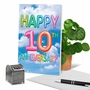 Creative Milestone Anniversary Printed Greeting Card From NobleWorksCards.com - Inflated Messages - 10 image 6