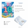 Stylish Milestone Anniversary Jumbo Card From NobleWorksCards.com - Inflated Messages - 10 image 2