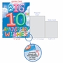 Stylish Milestone Anniversary Jumbo Card From NobleWorksCards.com - Inflated Messages - 10 image 5