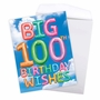 Creative Milestone Birthday Jumbo Printed Greeting Card From NobleWorksCards.com - Inflated Messages - 100 image 3
