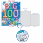 Creative Milestone Birthday Jumbo Printed Greeting Card From NobleWorksCards.com - Inflated Messages - 100 image 5