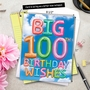 Creative Milestone Birthday Jumbo Printed Greeting Card From NobleWorksCards.com - Inflated Messages - 100 image 6