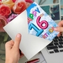 Funny Milestone Birthday Paper Card From NobleWorksCards.com - Inflated Messages - 16 image 2