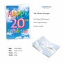 Creative Milestone Anniversary Greeting Card From NobleWorksCards.com - Inflated Messages - 20 image 2