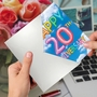 Creative Milestone Anniversary Greeting Card From NobleWorksCards.com - Inflated Messages - 20 image 3