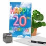 Creative Milestone Anniversary Greeting Card From NobleWorksCards.com - Inflated Messages - 20 image 6