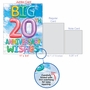 Stylish Milestone Anniversary Jumbo Paper Card From NobleWorksCards.com - Inflated Messages - 20 image 5