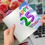 Funny Milestone Birthday Card From NobleWorksCards.com - Inflated Messages - 25 image 2