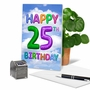 Funny Milestone Birthday Card From NobleWorksCards.com - Inflated Messages - 25 image 5