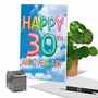 Creative Milestone Anniversary Printed Card From NobleWorksCards.com - Inflated Messages - 30 image 6