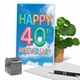 Creative Milestone Anniversary Printed Greeting Card From NobleWorksCards.com - Inflated Messages - 40 image 6