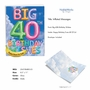 Creative Milestone Birthday Jumbo Printed Greeting Card From NobleWorksCards.com - Inflated Messages - 40 image 2