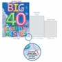 Creative Milestone Birthday Jumbo Printed Greeting Card From NobleWorksCards.com - Inflated Messages - 40 image 5