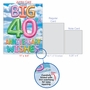 Stylish Milestone Anniversary Jumbo Card From NobleWorksCards.com - Inflated Messages - 40 image 5