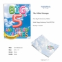 Stylish Milestone Anniversary Jumbo Paper Greeting Card From NobleWorksCards.com - Inflated Messages - 5 image 2