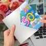 Creative Milestone Anniversary Greeting Card From NobleWorksCards.com - Inflated Messages - 50 image 3