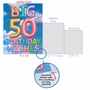 Creative Milestone Birthday Jumbo Greeting Card From NobleWorksCards.com - Inflated Messages - 50 image 5