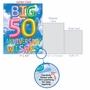 Stylish Milestone Anniversary Jumbo Paper Card From NobleWorksCards.com - Inflated Messages - 50 image 5