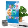 Stylish Milestone Birthday Paper Card From NobleWorksCards.com - Inflated Messages - 60 image 6