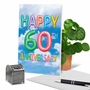 Creative Milestone Anniversary Printed Card From NobleWorksCards.com - Inflated Messages - 60 image 6