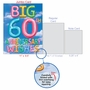 Stylish Milestone Anniversary Jumbo Paper Greeting Card From NobleWorksCards.com - Inflated Messages - 60 image 5