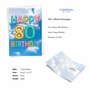 Stylish Milestone Birthday Card From NobleWorksCards.com - Inflated Messages - 80 image 2