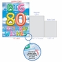 Creative Milestone Birthday Jumbo Greeting Card From NobleWorksCards.com - Inflated Messages - 80 image 5