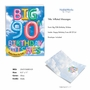 Creative Milestone Birthday Jumbo Printed Card From NobleWorksCards.com - Inflated Messages - 90 image 2