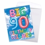 Creative Milestone Birthday Jumbo Printed Card From NobleWorksCards.com - Inflated Messages - 90 image 3