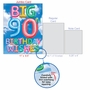 Creative Milestone Birthday Jumbo Printed Card From NobleWorksCards.com - Inflated Messages - 90 image 5