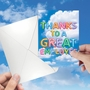 Creative Administrative Professionals Day Printed Greeting Card From NobleWorksCards.com - Inflated Messages - Admin image 3