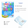 Creative Baby Jumbo Printed Card From NobleWorksCards.com - Inflated Messages - Baby Boy image 2