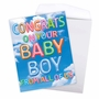 Creative Baby Jumbo Printed Card From NobleWorksCards.com - Inflated Messages - Baby Boy image 3
