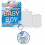 Creative Baby Jumbo Printed Card From NobleWorksCards.com - Inflated Messages - Baby Boy image 5