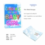 Creative Baby Greeting Card From NobleWorksCards.com - Inflated Messages - Baby Girl image 2
