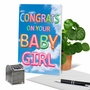 Creative Baby Greeting Card From NobleWorksCards.com - Inflated Messages - Baby Girl image 6