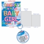 Stylish Baby Jumbo Paper Greeting Card From NobleWorksCards.com - Inflated Messages - Baby Girl image 5