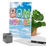 Stylish Bon Voyage Card From NobleWorksCards.com - Inflated Messages - Bon Voyage image 6