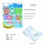 Creative Bon Voyage Jumbo Printed Card From NobleWorksCards.com - Inflated Messages - Bon Voyage image 2