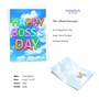 Creative Boss's Day Printed Greeting Card From NobleWorksCards.com - Inflated Messages - Boss's Day image 2