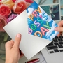 Creative Boss's Day Printed Greeting Card From NobleWorksCards.com - Inflated Messages - Boss's Day image 3